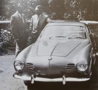 1955 lowlight Karmann Ghia Coupe