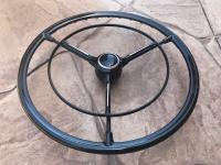 3 Spoke Standard Steering Wheel with Hornring