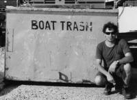 Boat trash