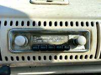 Blaupunkt AM/SW/FM radio in the Titan Red SO-42 Westfalia Camper Bus