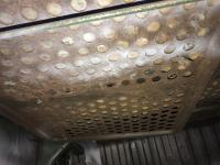 Engine compartment insulation / grates.