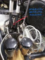 Balance bar duel cylinder brakes