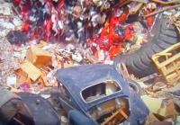 "VWs in the town dump in ""The Getaway"" (1972)"