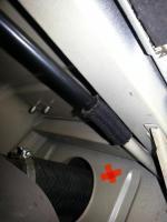 Bay window Fuel tank vent