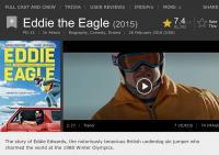 Eddie the Eagle, 2015