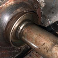 Bus Axle Boot Leaks