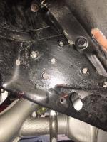 1973 beetle rear bumper bracket
