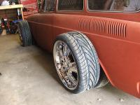 WORLDS FIRST TYPE3 SQUAREBACK ON 18 INCH WHEELS