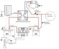 Blue Sea Wiring W/ Alternator
