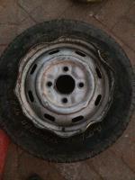 Baja flat tire bent rim