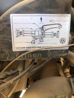 2.1L Vacuum Hose Diagram - 2WD