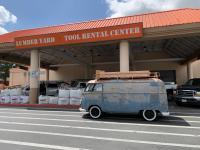 1956 Dove Blue Panelvan
