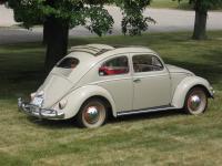 1955 Nile Beige Deluxe Sunroof Beetle