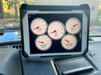 Gauge cluster via iPad