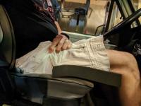 Westy seat hack foam pad