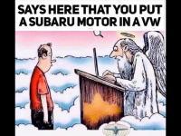 Subaru cartoon