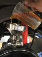 Gearbox rbg tranny oil change split case