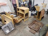 cabinet re-finishing