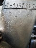 Factory stamps on June of 1955 36hp crankcase