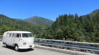 Social Distant camping; trip to Oak Bottom Campground near Somes Bar, CA in our '67 Westfalia