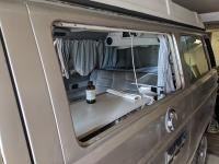 Finishing jalousie Vanagon install
