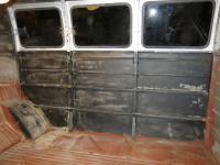 Wiima windows in T1 panel van.