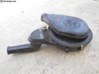 Original and Photoshopped Porsche air cleaner photo