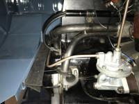 Gas tank steering box