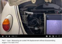 video screen for determining displacement