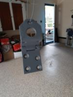 Door hinge repair