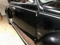 1967 L41 Factory Black Convertible with India Red interior