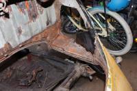 1303S rear end repair