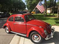 1962 Ruby Red Beetle