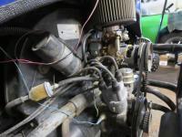 Industrial engine in a 1967 Baja