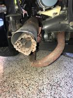 Type 3 dual cannon buggy exhaust