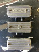 Old school cast breather boxes