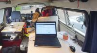 Bus as an office