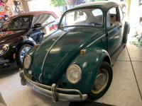 1966 Java Green Vw Bug Bone Stock
