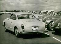 Vintage Volkswagen Karmann Ghia photo