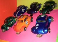 Vintage 1/32 Scale VW Bug Slot Cars