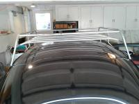 Oval roof rack