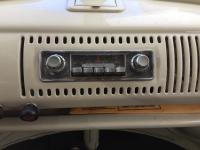 67 Westy radio and pedals