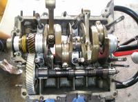 Engine type 1, left case half