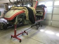 Engine stand Partial rotisserie