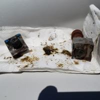 Broken adjuster bolts