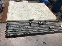 Chromoly cut to fit Push rods.