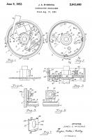 Patent US 2641660 Distributor Stabilizer