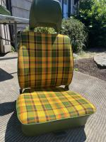 Westy plaid front seats