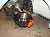 Disc brakes 1973 Beetle