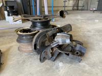 Rims/Engine Tin to be Powder Coated